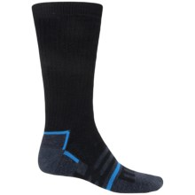Dri-Stride Midweight Socks - Crew (For Men) in Black - 2nds