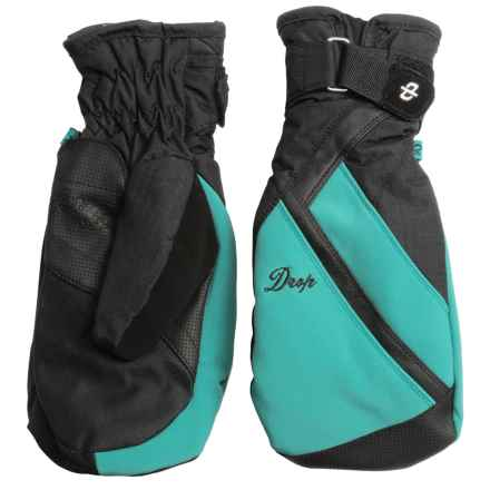 Drop Allure 2 Gore-Tex® Mittens - Waterproof, Insulated (For Women) in Lagoon/Black - Closeouts