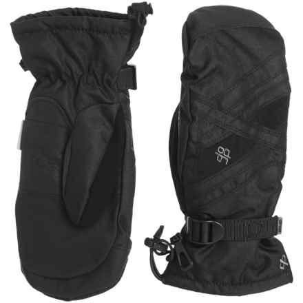 Drop Sector III Gauntlet Mittens - Waterproof, Insulated (For Men) in Black - Closeouts