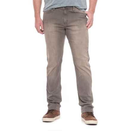 DU/ER High-Performance Denim Slim Jeans (For Men) in Faded Grey - Closeouts