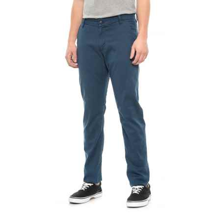 DU/ER Horizon Live Free Chino Pants - Slim Fit (For Men) in Horizon - Closeouts