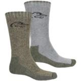 Ducks Unlimited Full Cushion Wool-Blend Socks - Mid Calf (For Men)