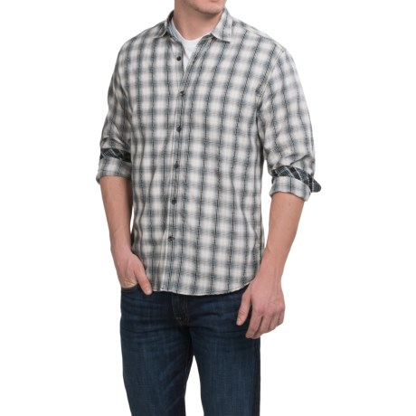 Dukes Bark Plaid Shirt Long Sleeve (For Men)