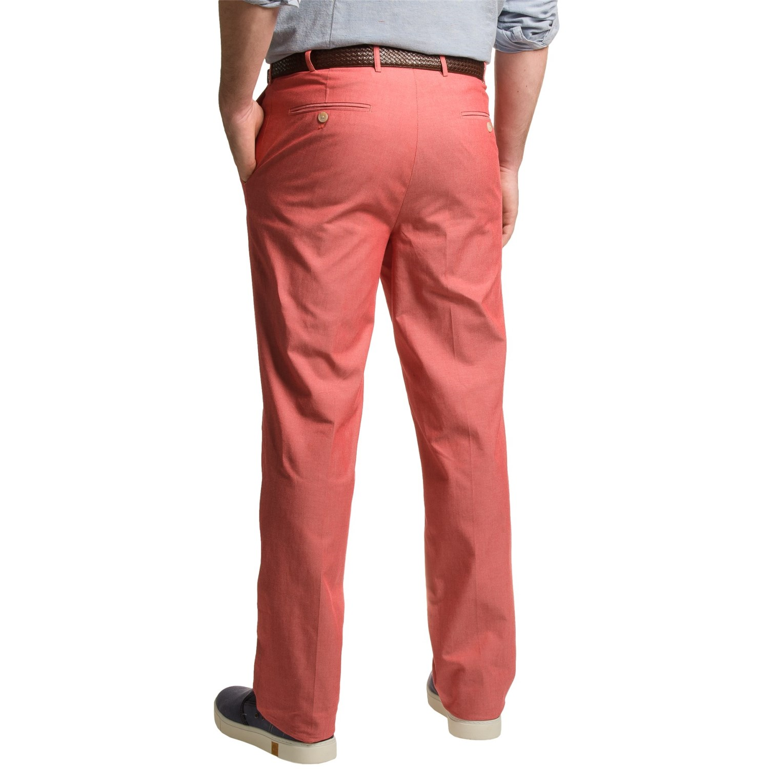 Dukes bark cotton chambray pants for men save 59 for Chambray jeans