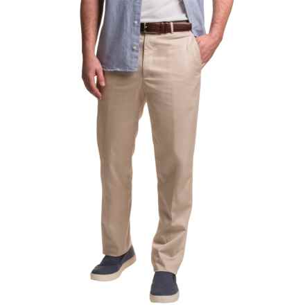 Dukes Stretch Sateen Cotton Dress Pants (For Men) in Tan - Closeouts