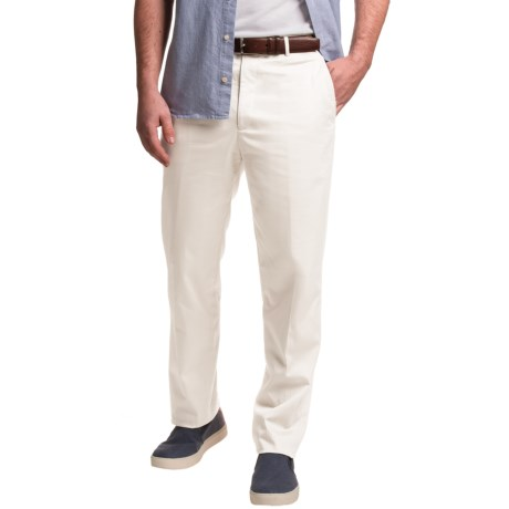 Dukes Stretch Sateen Cotton Dress Pants (For Men)