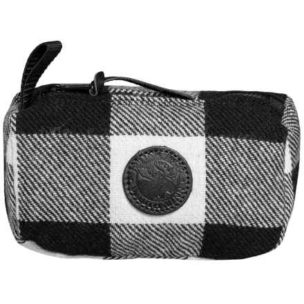 Duluth Pack Times Grab-N-Go Bag in Times Black/White Plaid - Closeouts