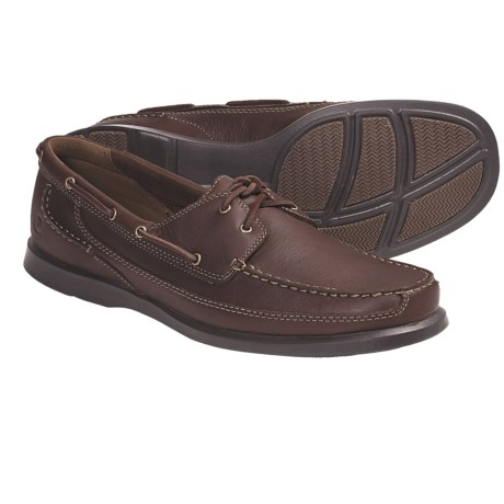 Dunham Aft 2-Eye Shoes - Leather (For Men) in Brown