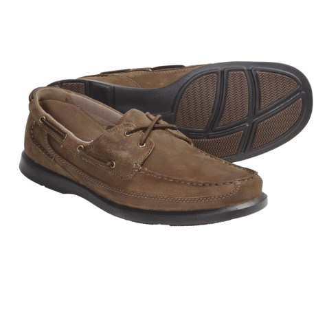Dunham Aft 2-Eye Shoes - Leather (For Men) in Tan
