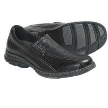 Dunham Belmont Shoes - Leather, Slip-Ons (For Men) in Black - Closeouts
