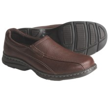 Dunham Belmont Shoes - Leather, Slip-Ons (For Men) in Brown - Closeouts