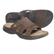 Dunham Bend Leather Sandals (For Men) in Tan - Closeouts