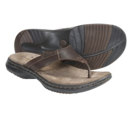 Dunham Biscayne Sandals - Leather, Flip-Flops (For Men) in Brown