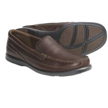 Dunham Boardwalk Shoes - Leather, Slip-Ons (For Men) in Brown - Closeouts