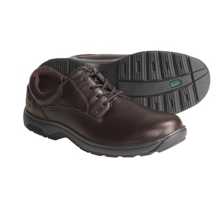 Dunham Prospect Oxford Shoes - Waterproof, Leather (For Men) in Tumbled Brown