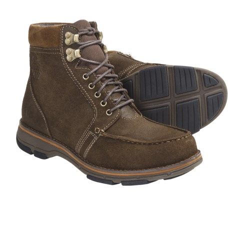 Dunham Randal High Boots - Suede (For Men) in Fossil