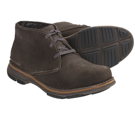 Dunham Reed Chukka Boots - Suede (For Men) in Brown