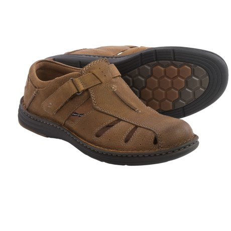 Dunham REVchamp Fisherman Sandals Leather (For Men)