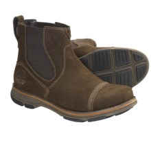 Dunham Ridley Boots - Waterproof Suede (For Men) in Fossil - Closeouts