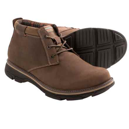 Dunham Ryan-Dun Chukka Boots - Waterproof, Nubuck (For Men) in Brown - Closeouts
