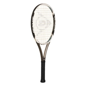 Dunlop Aerogel® Smoke Tennis Racquet in Charcoal