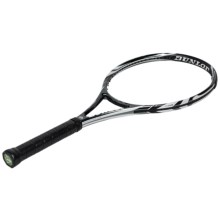 Dunlop Biomimetic 600 Tour Unstrung Tennis Racquet in White/Black - Closeouts