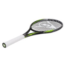 Dunlop Biomimetic F4.0 Tour Strung Tennis Racquet in Black/Green - Closeouts