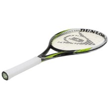 Dunlop Biomimetic M4.0 Strung Tennis Racquet in Black/Green - Closeouts