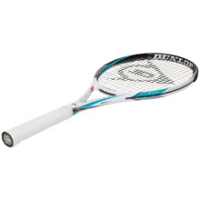 Dunlop Biomimetic S2.0 Lite Strung Tennis Racquet in White/Black/Blue - Closeouts