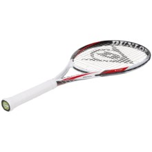 Dunlop Biomimetic S3.0 Lite Strung Tennis Racquet in White/Black/Red - Closeouts