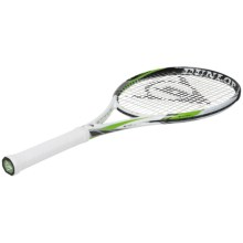 Dunlop Biomimetic S4.0 Lite Strung Tennis Racquet in Black/White - Closeouts