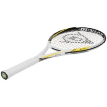 Dunlop Biomimetic S5.0 Lite Strung Tennis Racquet in White/Black/Yellow - Closeouts