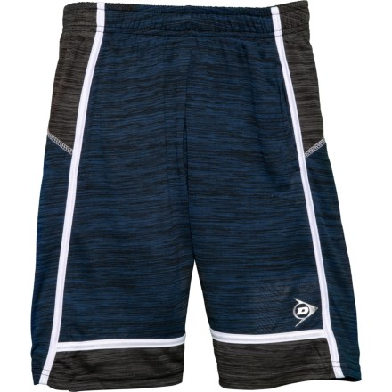 9ff185c8d9 Dunlop Navy Space-Dye High-Performance Shorts (For Big Boys) in Navy