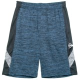 Dunlop Solid Shorts with Solid Side Panels (For Boys)