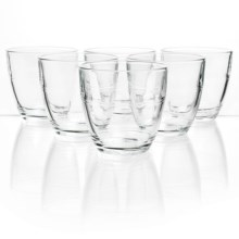Duralex Gigogne Tumblers - Set of 6, 5.75 oz. in Clear - Closeouts