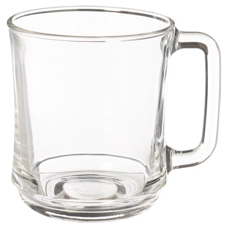 Duralex Lys Stackable Glass Mug - 10.87 fl.oz. in Clear