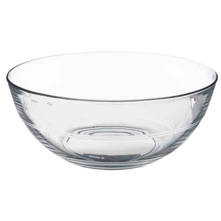 "Duralex Lys Stackable Serving Bowl - 12"" in Clear - Overstock"