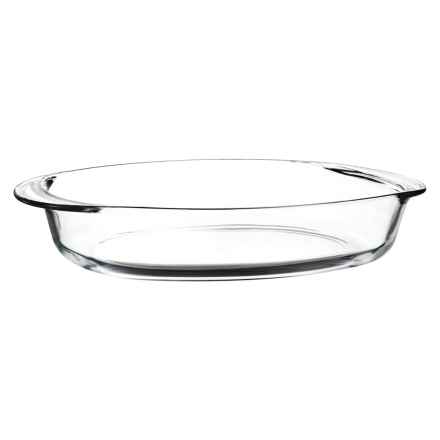 """Duralex Oval Roaster - 14x10"""" in Clear - Closeouts"""