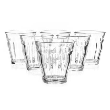 Duralex Picardie Tumbler Glasses - 8-3/4 fl.oz., Set of 6