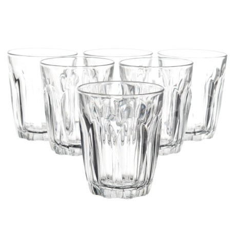 Duralex Provence Tumbler Glasses - Set of 6 in Clear