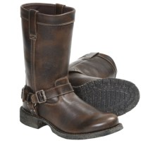 "Durango City Savannah Harness Boots - 10"", Leather (For Women) in Brown - Closeouts"