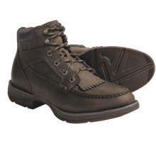 Durango Rebel Boots - Leather, Moc Toe (For Men) in Brown - Closeouts