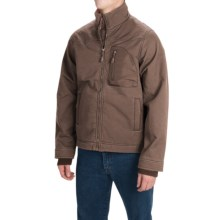 Dutch Harbor Gear Rough Rider Jacket - Full Zip (For Men) in Chocolate - Closeouts