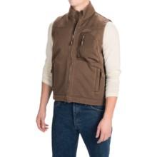Dutch Harbor Gear Rough Rider Vest - Full Zip (For Men) in Chocolate - Closeouts