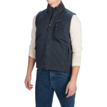 Dutch Harbor Gear Rough Rider Vest - Full Zip (For Men) in Deep Navy - Closeouts