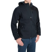 Dutch Harbor Gear Sherpa-Lined Hooded Jacket - Full Zip (For Men and Big Men) in Navy - Closeouts
