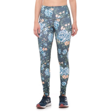 DYI High-Waist Signature Printed Leggings (For Women) in Romantic Floral