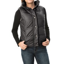 dylan Bowery Vest - Sherpa Lined (For Women) in Black - Closeouts