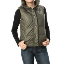 dylan Bowery Vest - Sherpa Lined (For Women) in Cargo - Closeouts