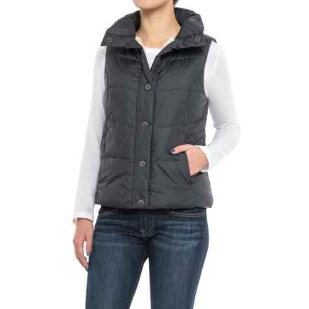 dylan Bowery Vest - Sherpa Lined (For Women) in Navy - Closeouts